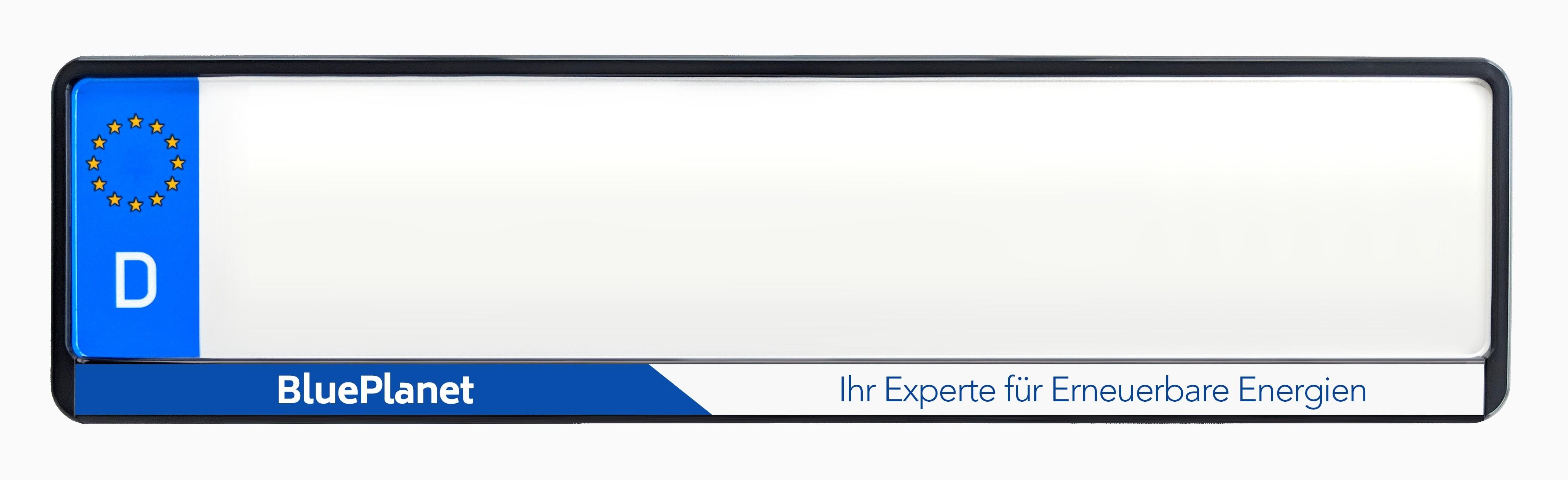 Kennzeichenhalter bedruckt mit Ihrem Design