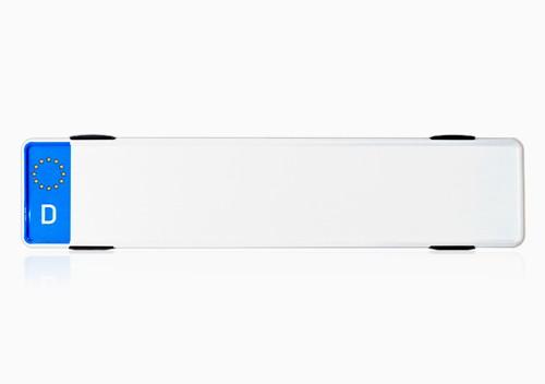 2x Rahmenloser Kennzeichenhalter FastFix