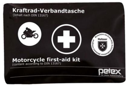 Motorrad Verbandtasche nach DIN 13167