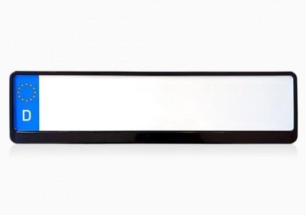 Kennzeichenhalter BlackBlaze (Schwarz, Hochglanz)