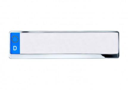 Kennzeichenhalter 520x110 mm Chrom-Look