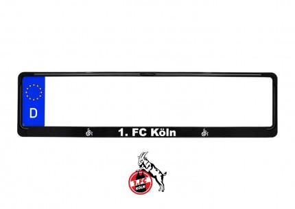1. FC Köln Kennzeichenhalter