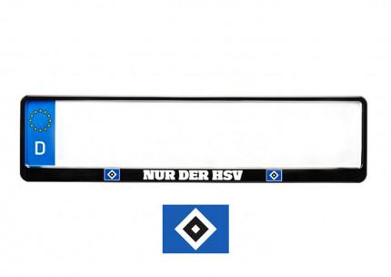 """""""NUR DER HSV"""" Kennzeichenhalter"""