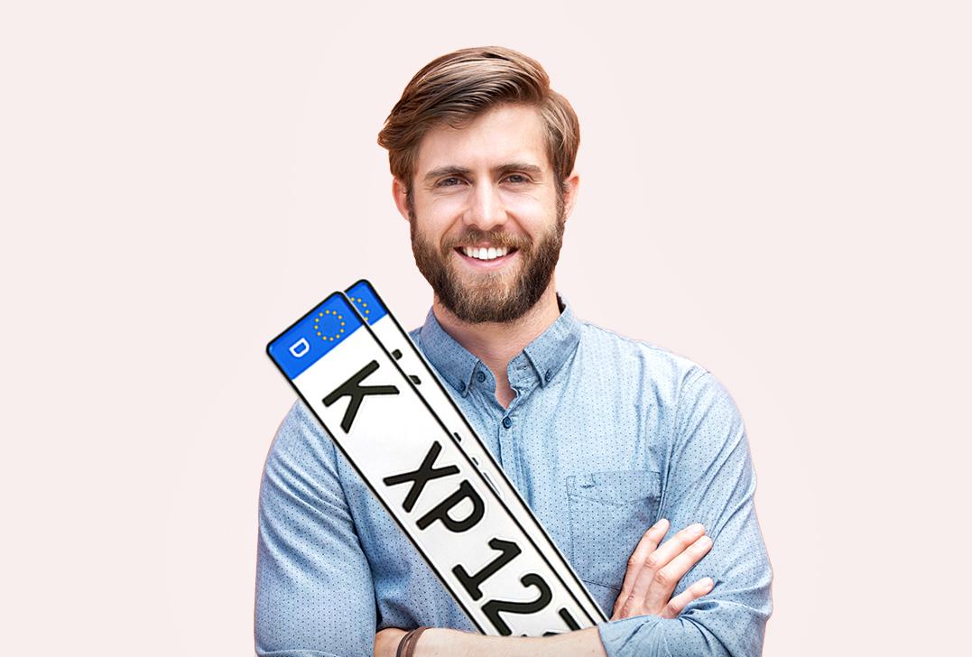 Kfz-Kennzeichen von Kennzeichen.Express
